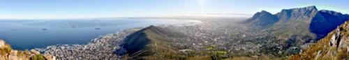 Cape Town City Bowl View
