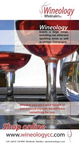 Wineology Advert